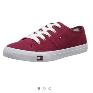Tommy Hilfiger | Aerie Red Canvas Sneaker